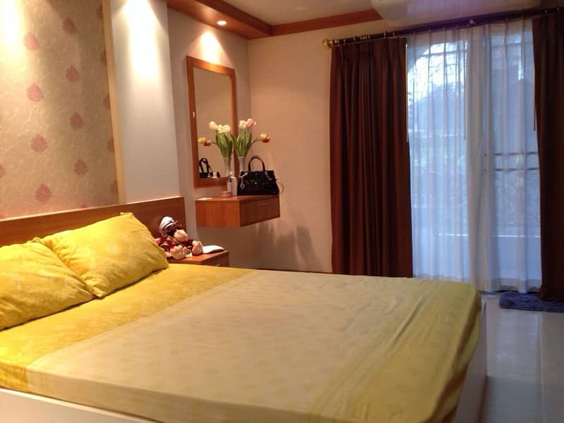 Condo for rent, Champs Elysees Chaengwattana, Pak Kret, 5,000 baht per month, Studio room 35 sqm. , Beautiful room, fully furnished, fully furnished Electrical appliances