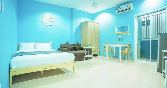 New room, beautiful decoration, furnished with wifi, Soi Nakorn Chalong