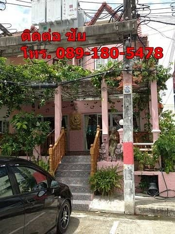 Selling 2 shophouses, 2 rooms, 2 food buildings, able to operate in the city of Rayong, Ban Chang, good location, good location, prosperous, so community, ready to transfer, 5 million baht