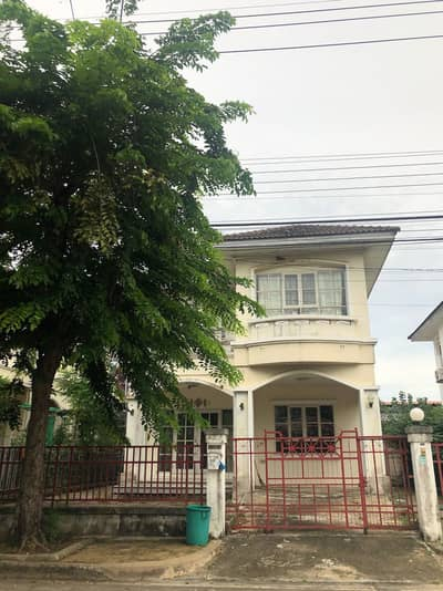 3 Bedroom Home for Rent in Thawi Watthana, Bangkok - House for rent in Chaiyapruek Thawi Watthana village in front of Mahidol Salaya.