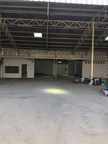 Warehouse for rent Warehouse for rent located on Sukhumvit Road near Big C Samrong in Muang District, Samut Prakan Province