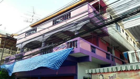 Commercial Building for Rent in Thanyaburi, Pathumthani - Sell or rent a 3-storey office building charter building for sale Living dormitory Near Future Park Rangsit, 22 rooms, Soi Rangsit - Nakhon Nayok 4 Klong 1, Saphan Fah - near the train