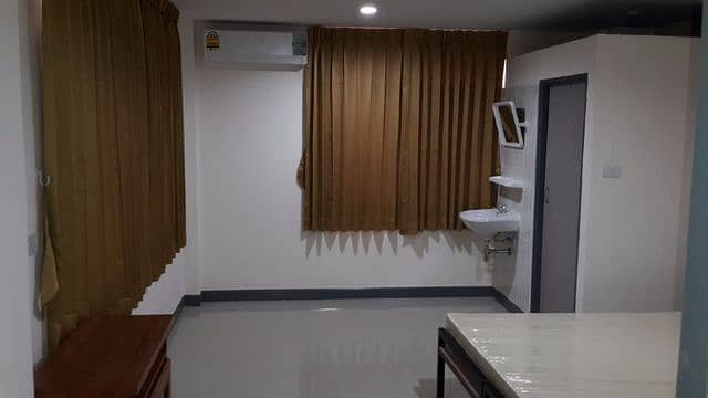 Dormitory for rent in Soi Charansanitwong 53, opening a new building and booking, opening on 1 July 2018