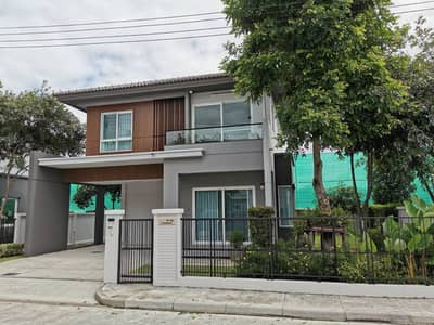 3 Bedroom Home for Rent in San Kamphaeng, Chiangmai - For rent, 2 storey detached house, 3 bedrooms, 3 bathrooms, Siwalee Sankampang-Chiang Mai project by Land&House (new house zone)