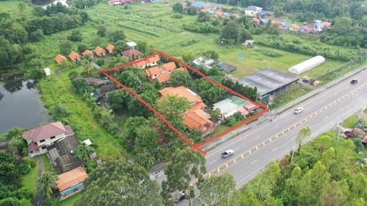 Hotel for Sale in Mueang Nakhon Nayok, Nakhonnayok - Resort for sale on the main road, 4 lanes, near the city