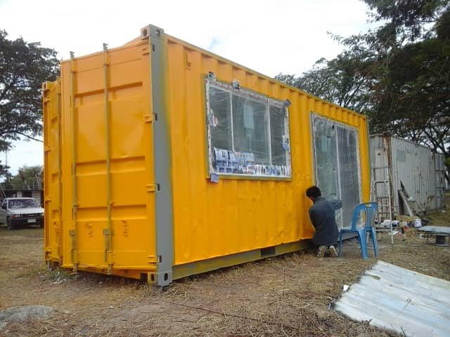 Sell containers, make office containers, Nakhon Phanom office