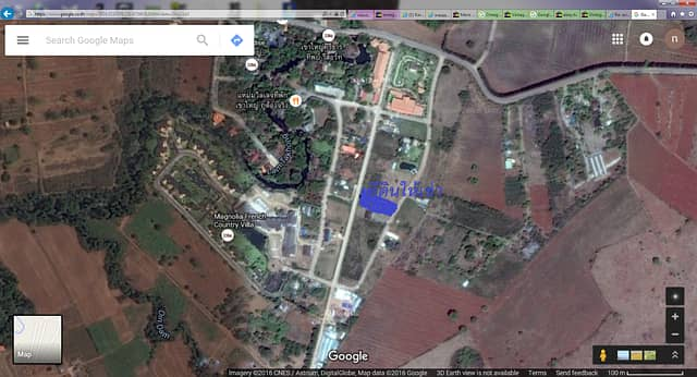 Land for rent in Khao Yai, excellent location in Khao Yai Sai Than Resort Project