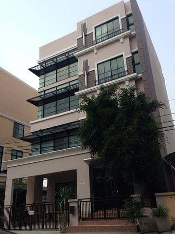 Home office in Baan Klang Krung project, Home Office Park 56.65 sqw. (Next to Lat Phrao District)
