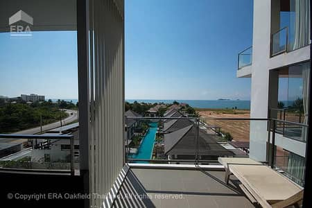 1 Bedroom Condo for Sale in Klaeng, Rayong - Modern condo ready to move in the project next to the beach, sea view at an affordable price 93439