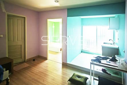 1 Bedroom Condo for Sale in Lat Phrao, Bangkok - The Niche ID Ladprao - Wang Hin, 1 bedroom, separate kitchen, garden view, good common area / second hand condo for sale, out of mortgage.