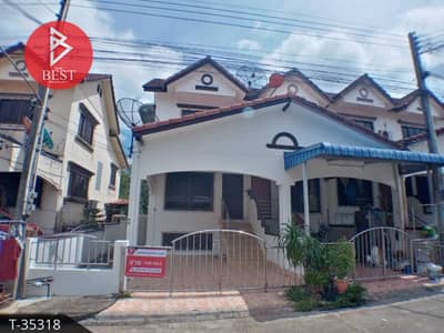 2 Bedroom Townhouse for Sale in Mueang Chanthaburi, Chanthaburi - 2 storey townhome for sale, Maneekan Village 2, next to Taksin-Sukhumvit Road, Chanthaburi, newly decorated