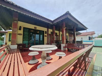 5 Bedroom Home for Sale in Klaeng, Rayong - Spacious House Decorated Nice Wood Furniture, a Couple Mins to Mae Phim Beach