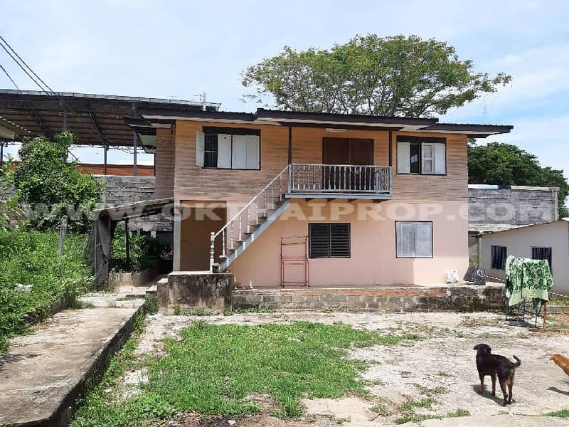 House with land, Sawanwithi Road, Mueang District, Nakhon Sawan Province