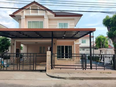 3 Bedroom Home for Sale in Saphan Sung, Bangkok - Single house for sale, Perfect Place Ramkhamhaeng 164, private zone 75 sq m, newly renovated, free built-in furniture, beautiful house, good value, good price, location, Ramkhamhaeng motorway, Orange Line BTS