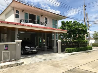 4 Bedroom Home for Sale in Lam Luk Ka, Pathumthani - Single house behind the corner of 62 sq m. New renovation, ready to move in. Near the expressway, Supalai University, Garden Ville, Lam Luk Ka Klong 5