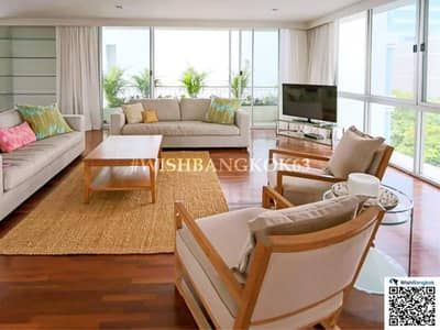 3 Bedroom Condo for Rent in Bang Rak, Bangkok - For rent 3 bedroom Pet Friendly in Sathorn  Chong Nonsi area , fully furnished Big space of 270 SQM