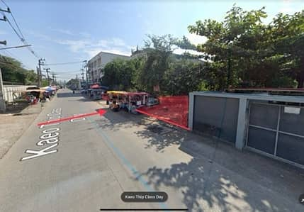 Land for Sale in Sam Phran, Nakhonpathom - Land for sale, next to Phutthamonthon Sai 7 Road, Soi Kaew Thip Class Day, 2 rai 12 sq. wa, 4 minutes from Borommaratchachonnani, suitable for warehouses, factories, apartments