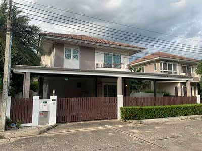 4 Bedroom Home for Rent in Lat Krabang, Bangkok - house for rent Supalai University, Garden Ville, Suvarnabhumi, area 67 sq m. , fully furnished + electrical appliances, ready to move in
