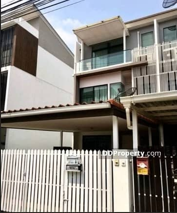 3 Bedroom Townhouse for Rent in Bang Khen, Bangkok - For rent townhome 3 floors M. The Terrace Soi Ramintra 65.