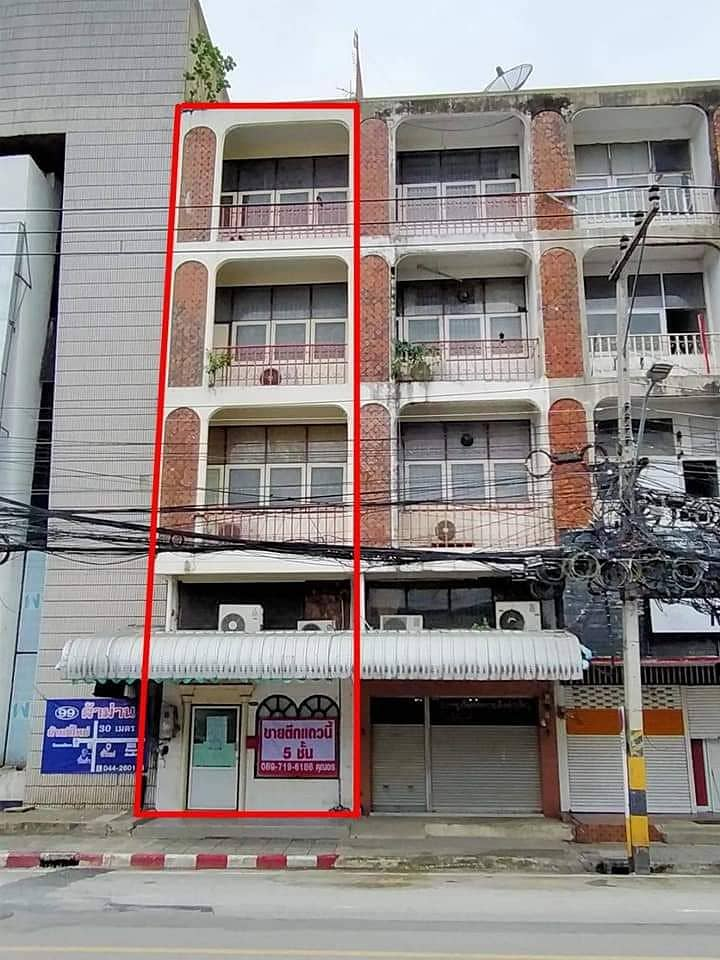 5-storey commercial building