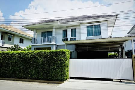 3 Bedroom Home for Sale in Sai Mai, Bangkok - 2 storey detached house for sale with lovely furniture, Watcharaphon zone, near the up-down point Chatuchot Expressway