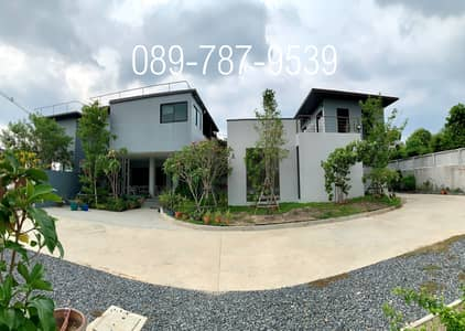 7 Bedroom Home for Sale in Pak Kret, Nonthaburi - Detached house for sale with office, size 609 square wah, private swimming pool, Tiwanon, Pak Kret, Nonthaburi