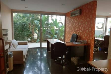 1 Bedroom Commercial Building for Rent in Bang Lamung, Chonburi - Decorated office on Wongamat Beach Pattaya for sale & rent
