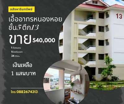 1 Bedroom Condo for Sale in Mueang Chiang Mai, Chiangmai - Room for sale Eua Athon Nong Hoi 540,000 free transfer